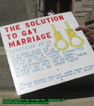 The solution to gay marriage
